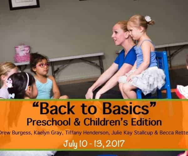 Back To Basics Teacher Intensive