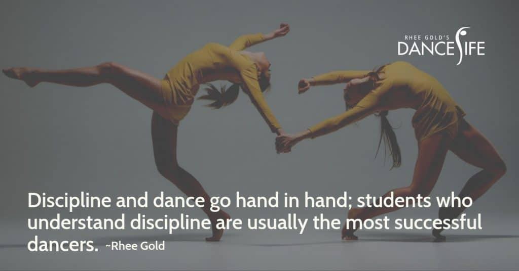 Discipline and Dance - Rhee Gold