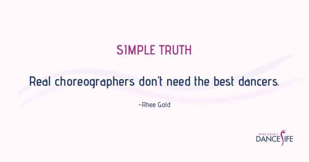 Real Choreographers - Rhee Gold