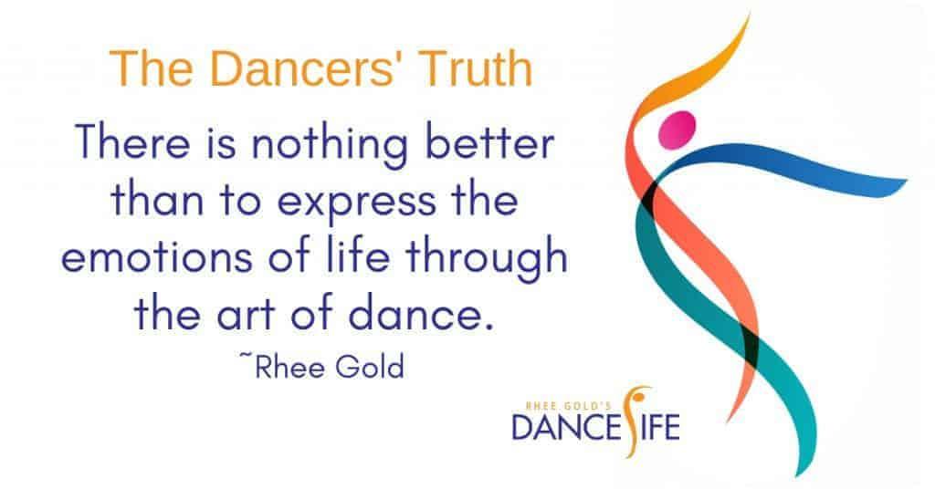 A Dancers' Truth - Rhee Gold