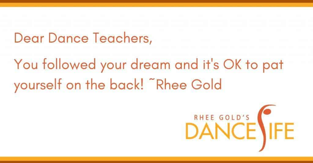 Pat Yourself on the Back - Rhee Gold