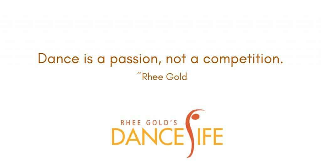Dance Is Passion - Rhee Gold