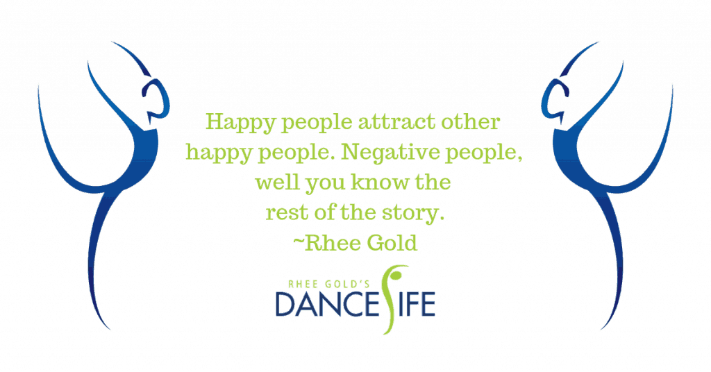 Happy People - Rhee Gold Quote
