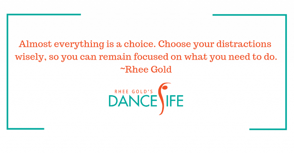 Remain Focused - Rhee Gold Quote