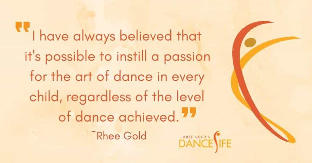 Passion for Dance - Rhee Gold