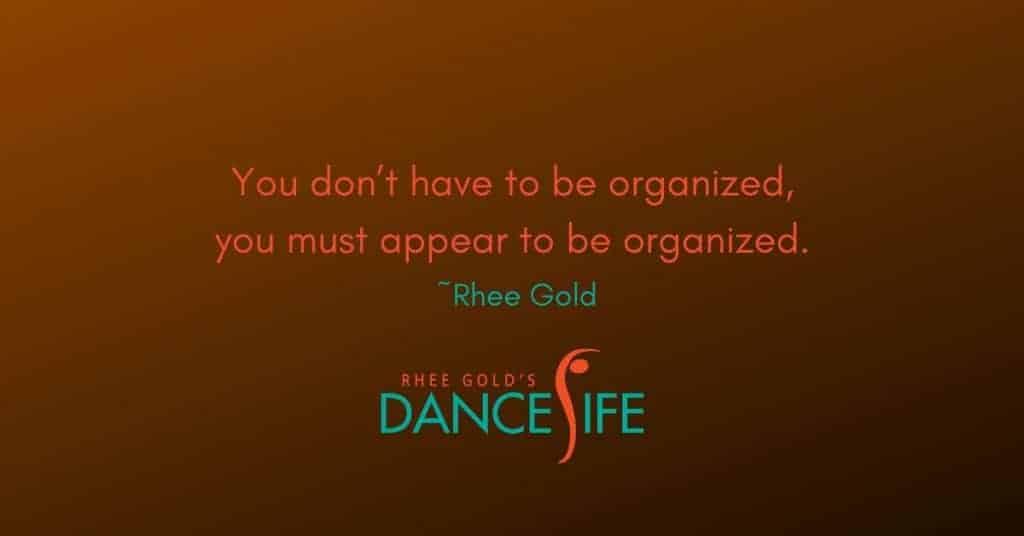 Organized - Rhee Gold