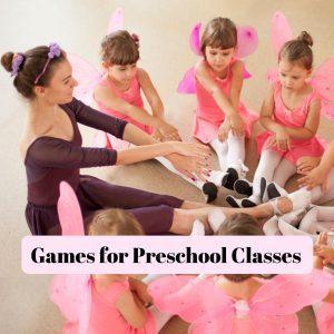Games for Preschool Classes IG