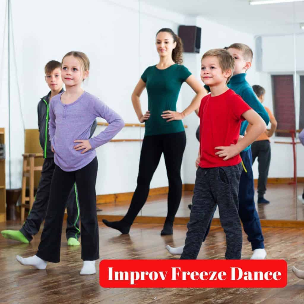 Improv Freeze Dance
