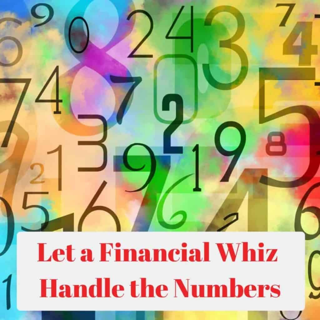 Financial Whiz Handle the Numbers