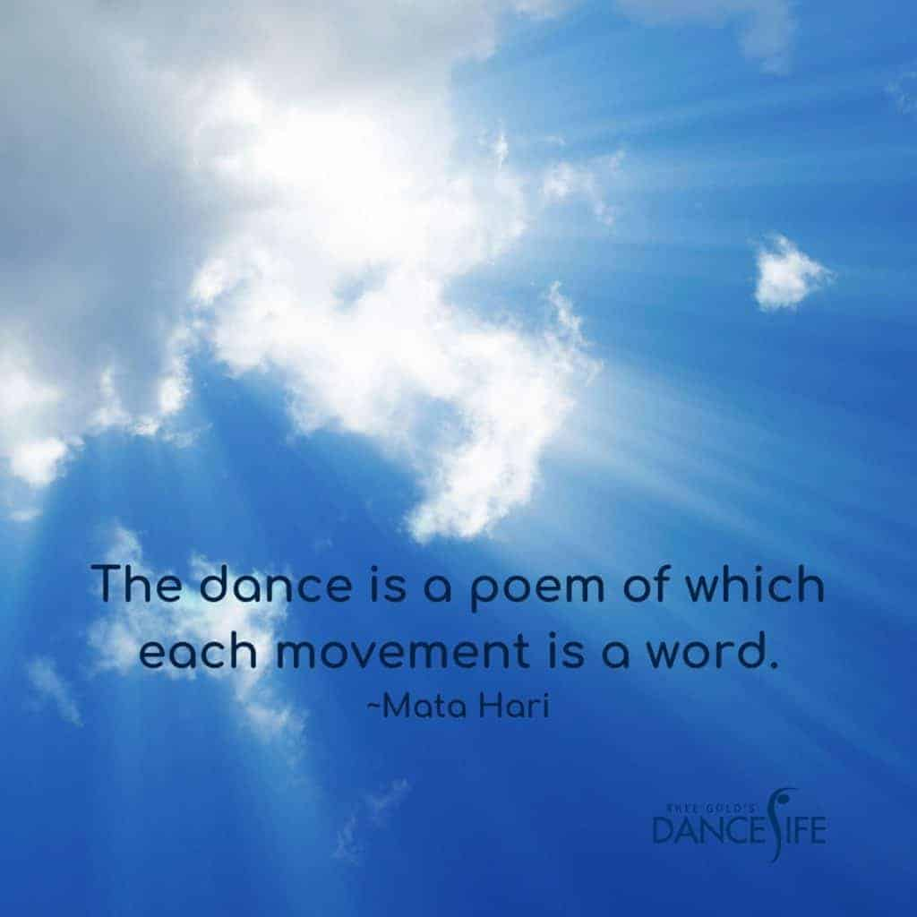 The Dance is a Poem