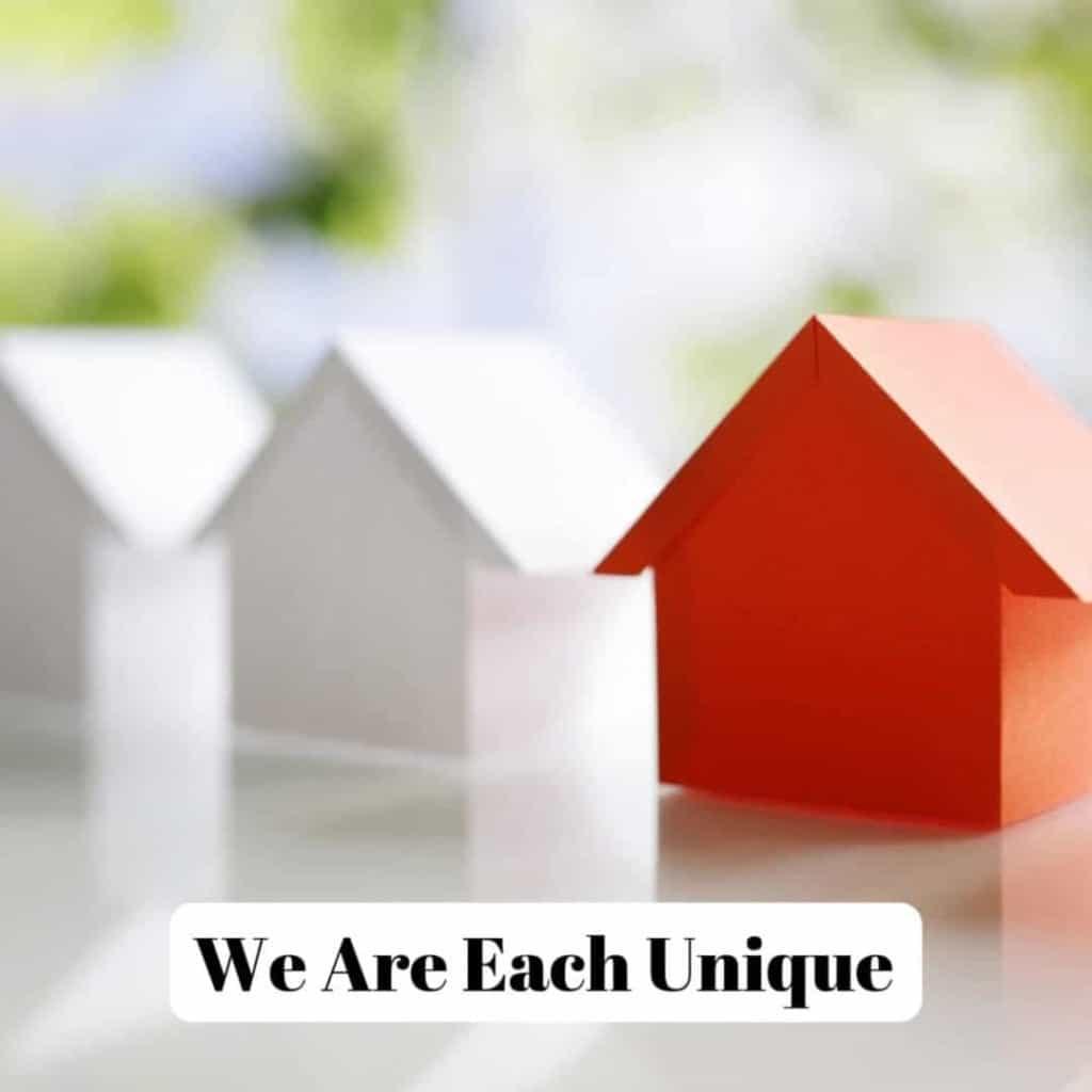 We Are Each Unique