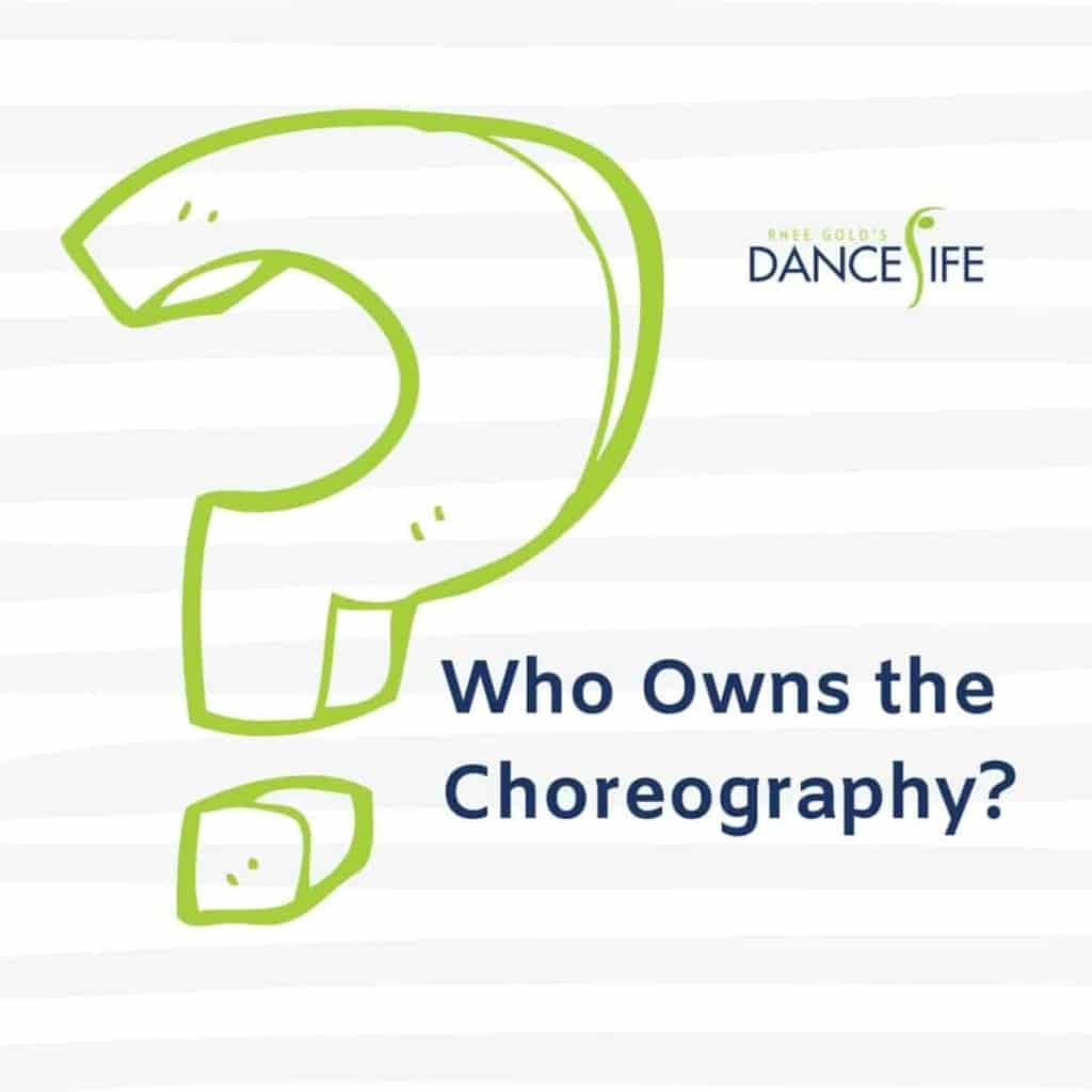 Who Owns the Choreography