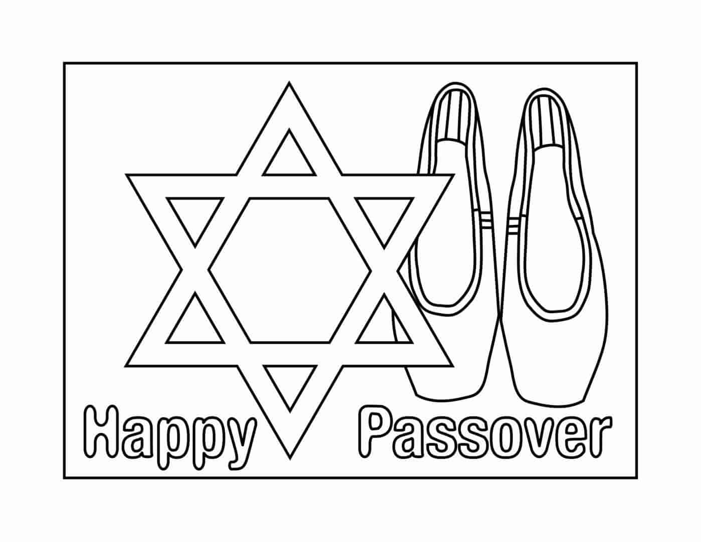 Passover Coloring Page-01